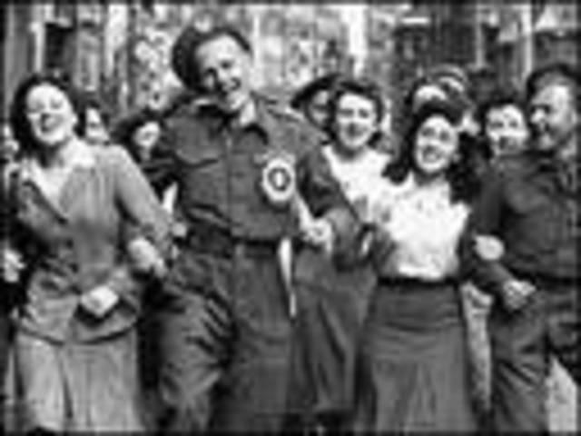 End of WW II