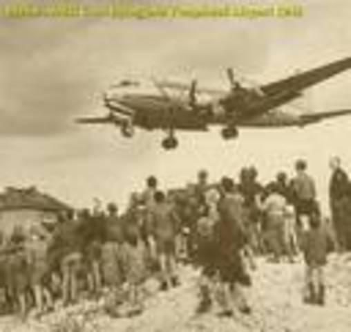 Start of Berlin Airlift
