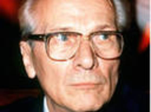 Erich Honnecker becomes leader of GDR.
