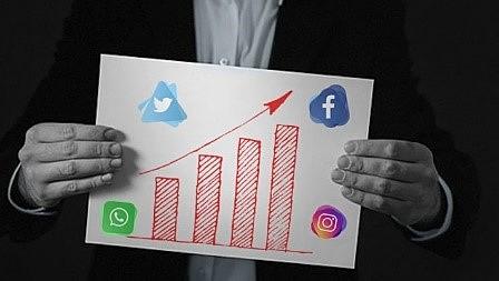Publicidad en redes sociales.