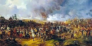 Napoleone sconfitto a Lipsia