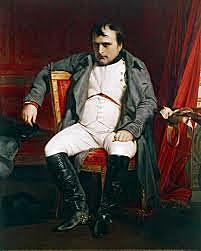 Napoleone sconfitto a Waterloo