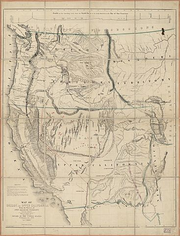 4.3.2: Compare how and why people traveled to California and the routes they traveled (e.g., James Beckwourth, John Bidwell, John C. Fremont, Pio Pico).