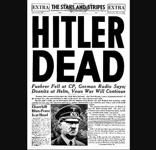 Hitler Comete Suicídio em Seu Bunker