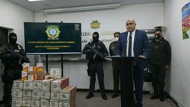 Gobierno dice que militante del MAS transportaba 126 mil balas por el Chapare