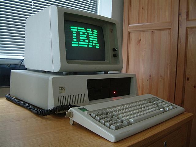 Primer ordenador personal.