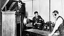 Primer Anuncio Radiofónico