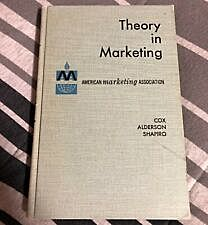 """""""Theory in Marketing""""."""