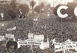 CGT y Partido Peronista: movimiento de trabajadores peronistas