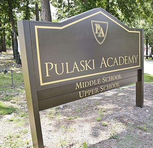 William F. Rector Announces building of Pulaski Academy