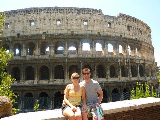 City tour around Rome