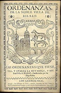 Las Ordenanzas de Bilbao de 1737