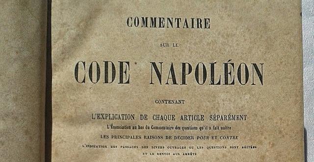 Napoleón Expedición de Códigos