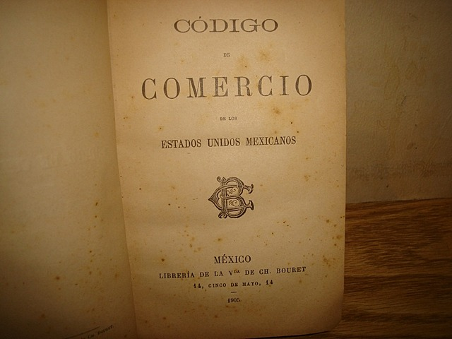 Segundo Código de Comercio en México