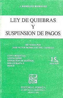 Ley de Quiebras y Suspensión de Pagos de 1942