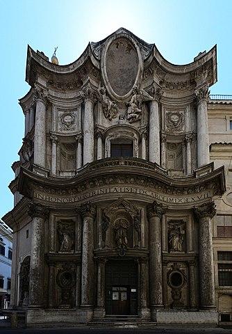 San Carlo delle quattro fontane