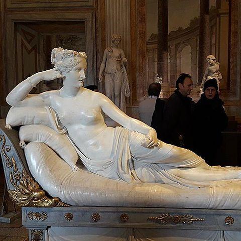 Paolina Borghese come Venere vincitrice