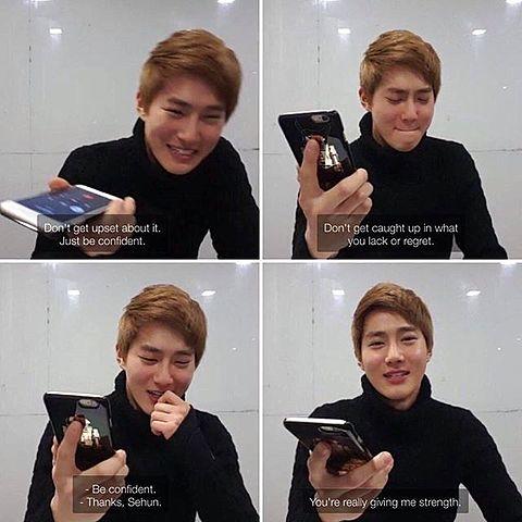 [KJM] V App Broadcast Exo's Funniest Member