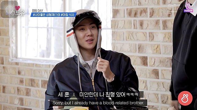 Junmyeon Heart4U Episode 18 [air date]