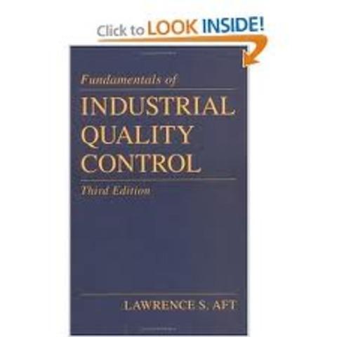 Inicia sus publicaciones Industrial Quality Control.