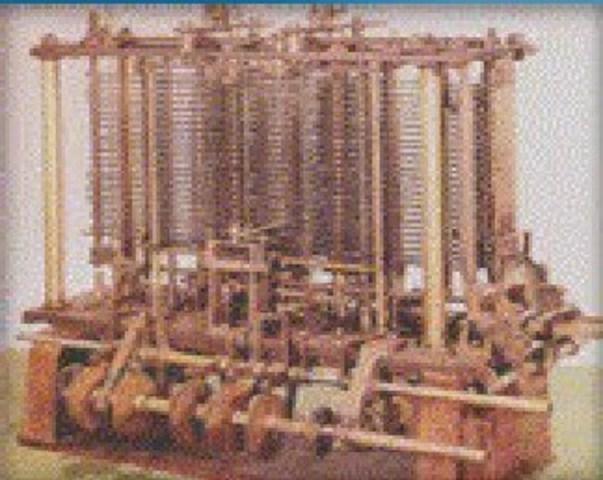 1833 1era Computadora Mecanica