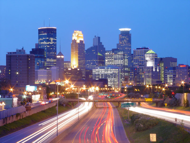 Went to Minnesota again.