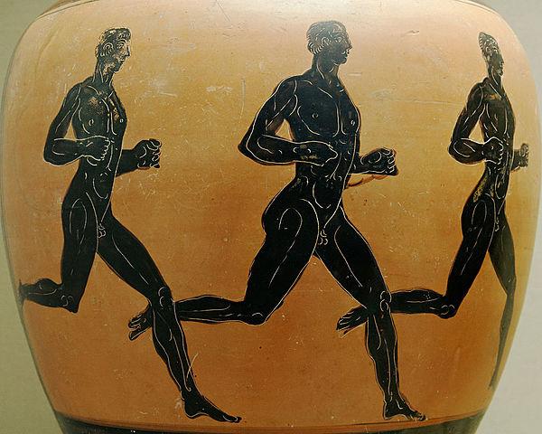 Pierwsze odnotowane igrzyska olimpijskie w Grecji