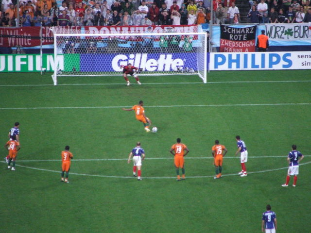 PENALTY KICK WAS INTRODUCED