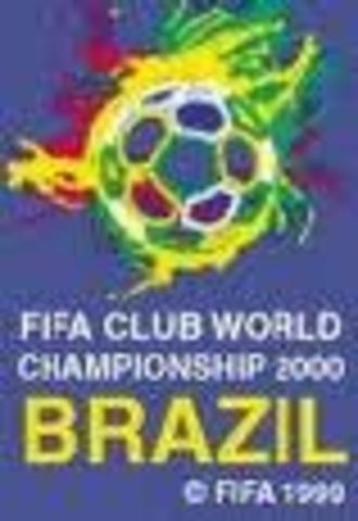 FIRST FIFA CLUB WORLD CUP. HELD IN BRAZIL