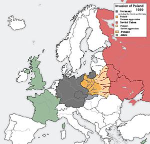 União Soviética invade a Polônia