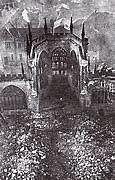 Alemanha bombardeia o sul da Inglaterra