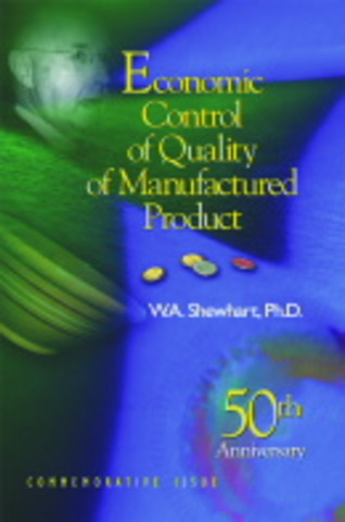 W.A. Shewhart publica Economic Control of Quality of ManufacturedProduct,