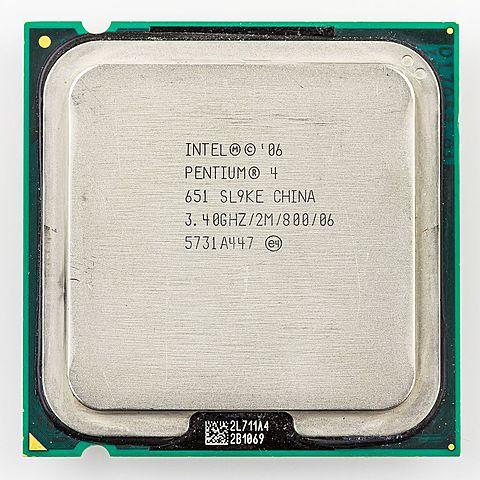 Pentium 4 64bits