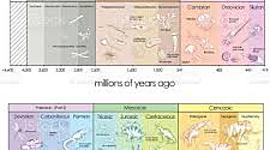 Geokronoloogiline skaala Riin BK timeline