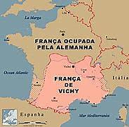França de Vichy é ocupada pelos alemães