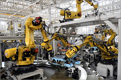 Robotics use increases in manufacturing