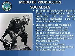Las principales características del modo de producción socialista