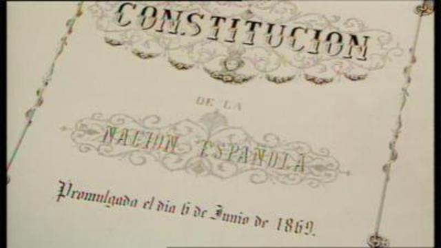 1869 Constitución española
