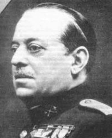 Sublebación del general Sanjurjo