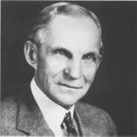 Linea de Ensamblaje de Henry Ford