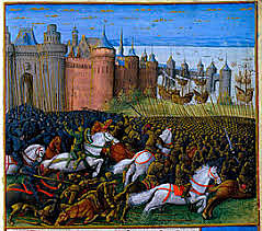 The Crusades end
