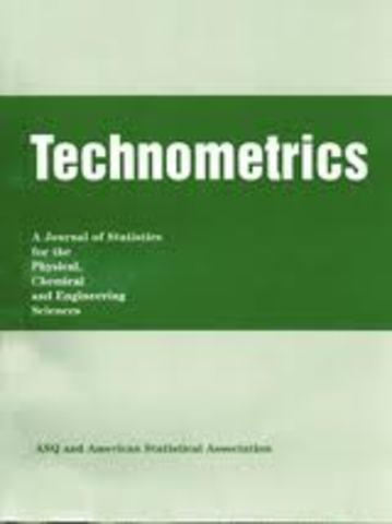 J. Stuart Hunter elavora Technometrics