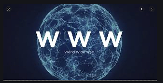 Création du WorldWideWeb