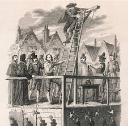Death of Guy Fawkes