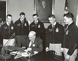 Truman Signs Bill!