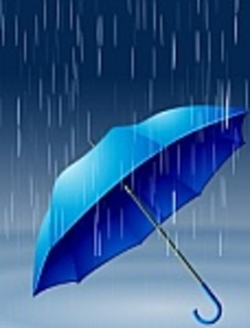 Precipitation - it starts to rain