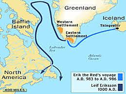 Leif Eriksson: Found Iceland, Greenland, North America
