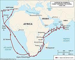 Vasco da Gama was sponsored by the country Portugal.