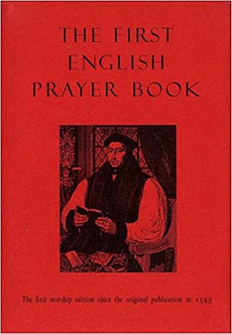 The first version of the English prayer book