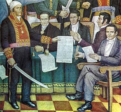 1813- Se instala en Congreso constituyente en Chilpancingo